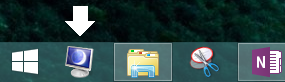 Drag the new monitor off shortcut to your taskbar for easy access with a click or keyboard.